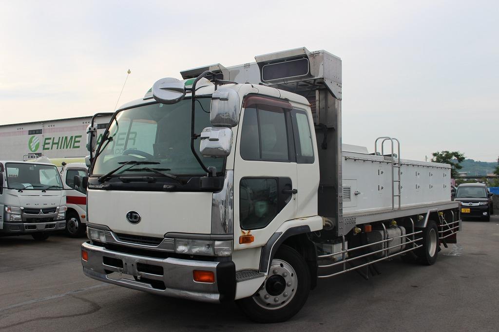 H10 UDコンドル 増㌧ 活魚運搬車 キョーワ|中予自動車